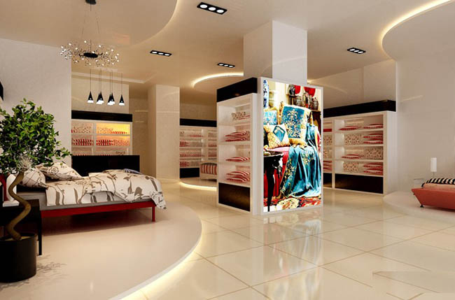 家纺店装修设计-合肥家纺店装修设计-安徽装饰公司