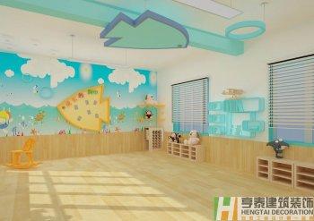 海洋主题幼儿园装修设计